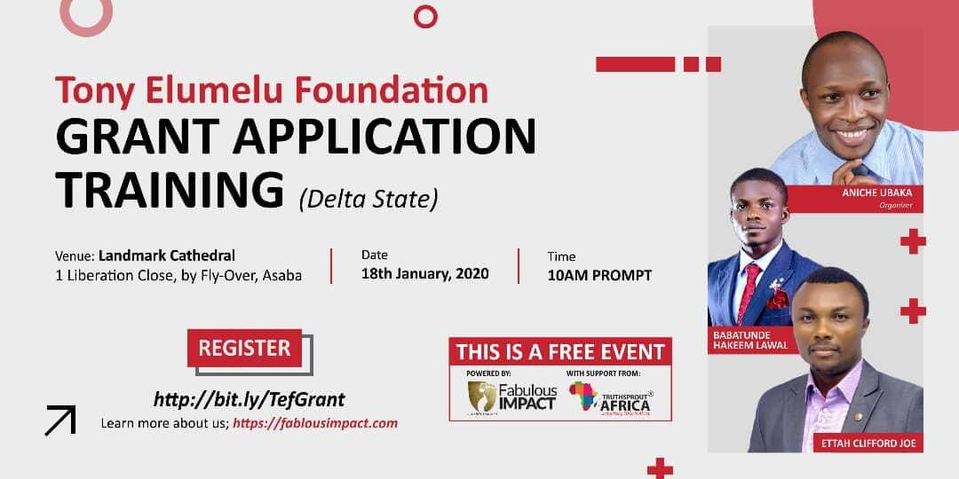 TEF GRANT APPLICATION TRAINING (Delta State)