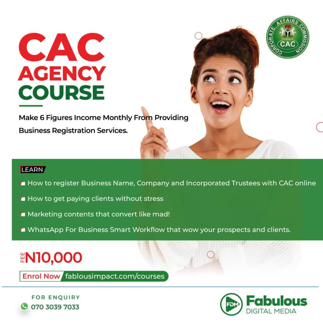 CAC Agency Course